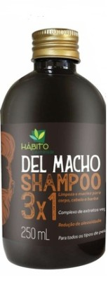SHAMPOO DEL MACHO HABITO 250 ML