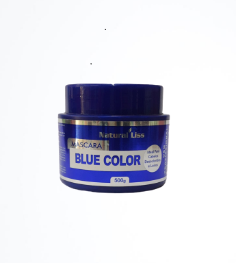 MASCARA BLUE COLOR NATURAL LISS 500g