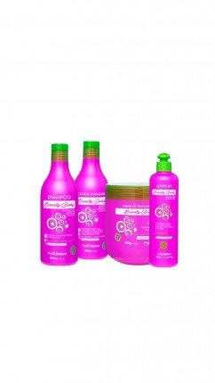 KIT BEAUTY CURLY FYTO NATURE 4 UND