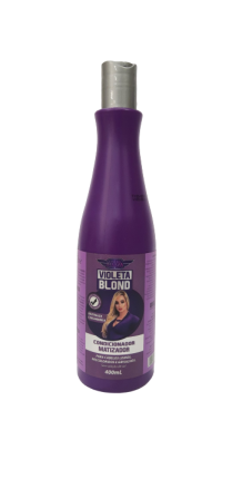 CONDICIONADOR  MATIZADOR VIOLETA BLOND MARY LIFE 400ML