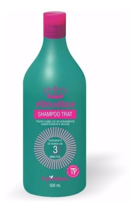 SHAMPOO DIVA HELP FYTO.NATURE 500 ML